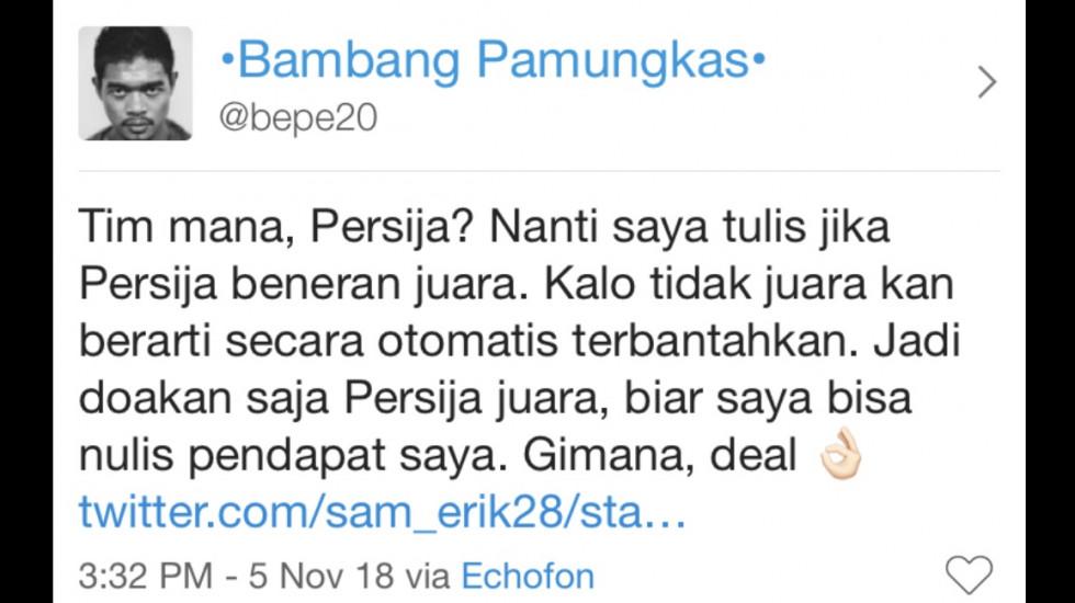 """""""Persija Juara, Sudah Diatur?"""" 2/5"""